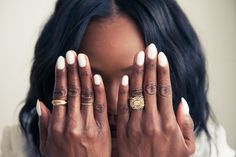 """""""My engagement ring is definitely the most sentimental piece in my closet. My fiancé had it made by the designer Alexandra Mor."""" http://www.thecoveteur.com/kahlana-barfield-instyle/"""