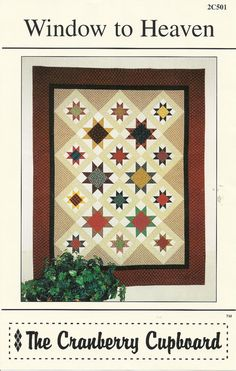 Quilt Pattern Window to Heaven by The Cranberry by PatternPriority