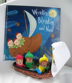 "Create a ""Dutch Treat"" after reading the wonderful book: Wynken, Blynken & Nod."