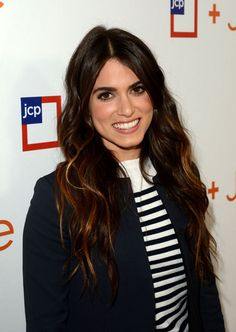 Nikki Reed's hair color. So shiny and flattering!