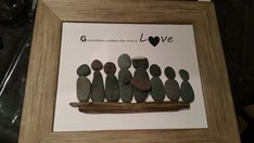 Grandparents Pebble Art by SDCreations0813 on Etsy