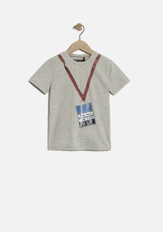 Boys' grey T-shirt | IKKS Fall Winter | IKKS Boys