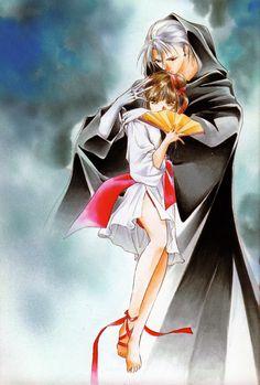 Vampire Princess Miyu manga illustration by Narumi Kakinouchi