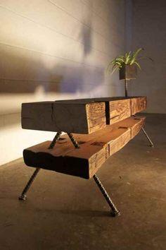 #Reclaimed #salvage wood table design ideas