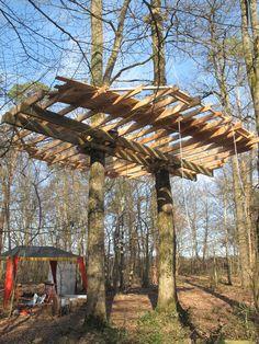 #cabanedanslesarbres #cabane #treehouse