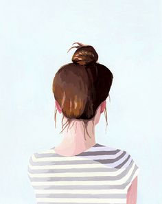 top knots by Elizabeth Mayville