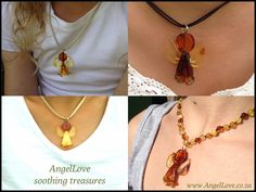 An angel worn close to the heart to remind your Love that they are treasured & strong & never alone  www.AngelLove.co.za