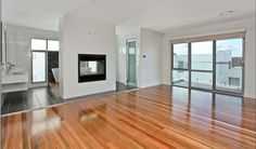 Australian hardwood timber flooring called Spotted Gum from NSW timbers this floor was supplied and installed for Benchmark Homes by Timber Floors Pty Ltd Ph 02 9756 4242
