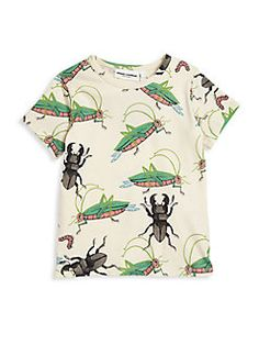 Mini Rodini - Baby's, Toddler's, Little Boy's & Boy's Insects Printed Tee