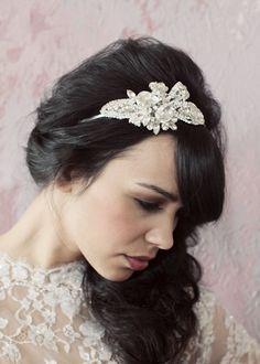 Genevieve headband by Sarah Seven