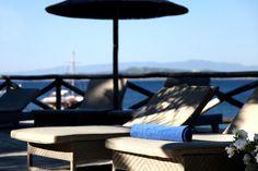Beach pool @ http://www.eaglespalace.gr