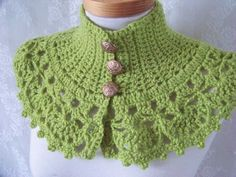 Jocelyn Capelet with Roses Pattern - FREE Crochet Patterns