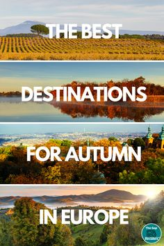 All the best European destinations for an autumn trip #europeautumn #autumneurope   #autumholiday #octoberholidayseurope #novemberholidayseurope #septemberholidayseurope Road Trip France, Road Trip Europe, Family Vacation Destinations, Amazing Destinations, Family Vacations, Cruise Vacation, Travel Europe, Disney Cruise, Family Travel