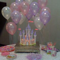 Abby's 3rd birthday... Princess castle