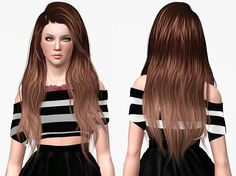 Stealthic Heaventide Hairstyle Retextured by Chantel Sims for The Sims 3 The Sims, Sims Love, Sims 1, Sims 3 Cc Finds, Sims 3 Mods, Play Sims, Best Sims, Sims Hair, Hot Hair Styles