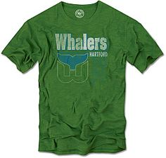 Retro Hartford Whalers Pucky T-Shirt P13UeL
