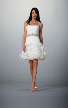 Short wedding dress for Green bay packers wedding dress