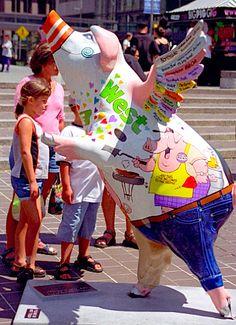 Cincinnati - Big Pig Gig (2000) by David Paul Ohmer, via Flickr