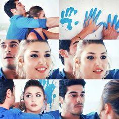 ❤️ Girl Couple, Cute Love Couple, Best Couple, Romantic Couples, Cute Couples, Murat And Hayat Pics, Cute Love Stories, Hande Ercel, Turkish Beauty