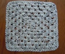 Granny Square Crochet Pattern