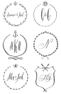 Wedding gifts!      http://snippetandink.com/wp-content/uploads/2014/01/6-stephanie-fishwick-calligraphy-snippetanidnk.jpg