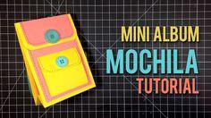En este primer video te enseño hacer de principio a fin un Mini Album (MA) con forma de mochila. Decoración del MA: http://youtu.be/2umfuwIrOno Patrones en m...