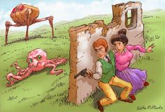 """O Homem Ilustrado - The Illustrated Man: H. G. Well's """"The war of the worlds""""…"""
