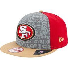 San Francisco #49ers 2014 New Era® 9FIFTY® Snapback Draft Hat. Click to order! - $29.99