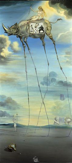 Salvador Dalí. Sports. The Seven Lively Arts Celestial Ride 1957