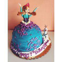 Frozen barbie cake on pinterest barbie cake elsa cakes and doll