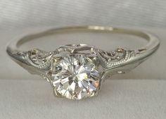 Tivoli: vintage wedding ring- absolutely gorgeous :) :) :) >> Scopri le Offerte!