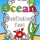$ Common Core asks for a lot more student interaction with nonfiction format, and so I made this for my own class as part of our Ocean unit. This pac...
