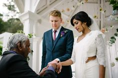 An Elegant Western-Sri Lankan Style Wedding by Michael Schultz Photography - Paper & Lace