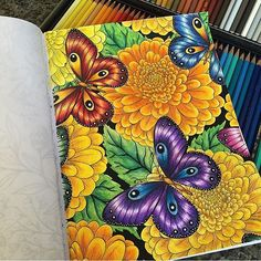Coloring secrets @coloring_secrets Wonderful! By @el...Instagram photo | Websta (Webstagram)