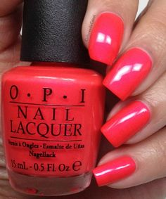 nails.quenalbertini: Colores de Carol | OPI Neons 2014, Swatches and Review