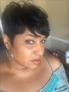 Quick Weave Short Hairstyles Amazing Simple Clean Look  Natural Hair  Pinterest  Short Hair Hair