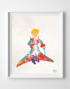 The Little Prince Print Le Petit Prince by InkistPrints
