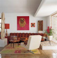 Living Room in Miami, FL by Doug Meyer Studio