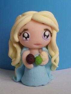 Daenerys Targaryen Khaleesi  Juego de Tronos Fimo por LucyMiu, €10,50