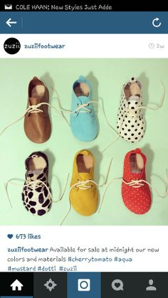 And my future baby (boy or girl) WILL wear these ADORABLE shoes!!