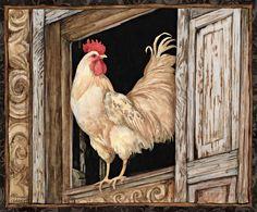 Lang June 2014 wallpaper: Proud Rooster