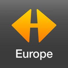 NAVIGON Europe, car navigation (App for iPhone and iPad)