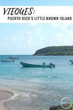 Guide to the beaches of Vieques Island, Puerto Rico