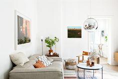 Bright flat in Stockholm/ Jasne mieszkanie w Sztokholmie