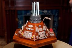 When Clara and Justin Got Married, They Did It With Some Incredible Geek Cakes