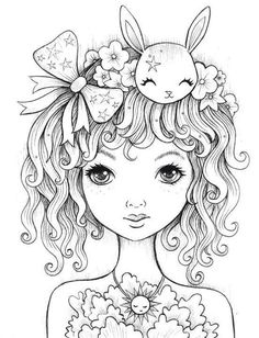 Jeremiah Ketner Make your world more colorful with free printable coloring pages from italks. Our free coloring pages for adults and kids. Coloring Pages For Girls, Colouring Pics, Doodle Coloring, Coloring Pages To Print, Coloring Book Pages, Printable Coloring Pages, Colorful Drawings, Colorful Pictures, Digital Stamps