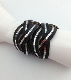 Braid Cuff Black