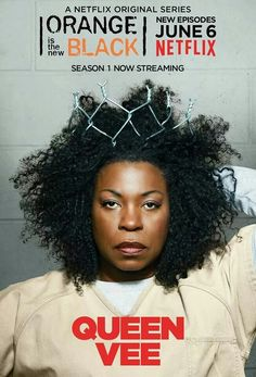 I love to hate Vee. So evil and manipulative. #OITNB