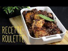 Cuisses de poulet au miel et raisin