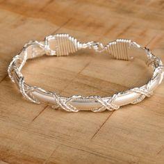 Dome Bar X- Silver. Ronaldo bracelet